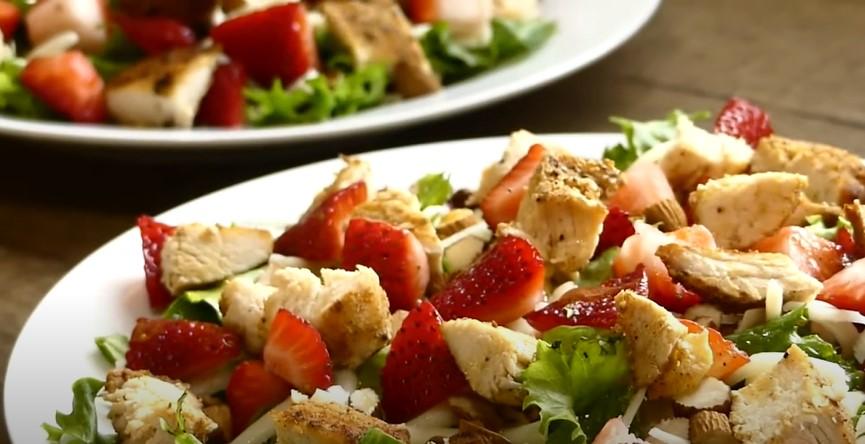Strawberry Harvest Salad Recipe (Zupas Copycat)