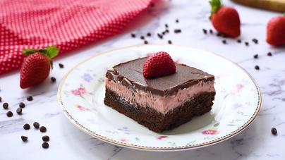 strawberry layer brownies recipe