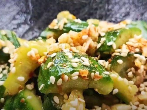 Taiwanese Sesame Cucumbers Recipe