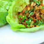 thai-style lettuce wraps recipe