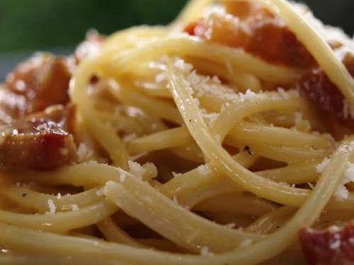 turkey pasta carbonara recipe