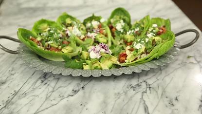 turkey taco lettuce wraps recipe