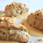 vegan banana nut scones recipe