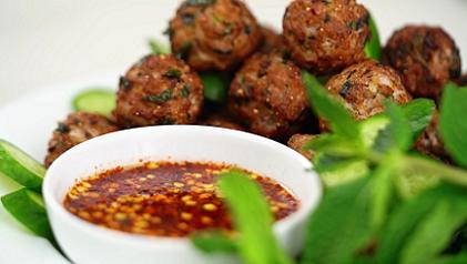 vietnamese meatballs with chili sauce recipe