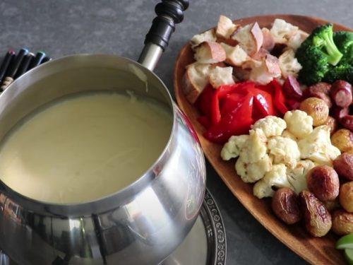 Whiskey-Cheese Fondue Recipe
