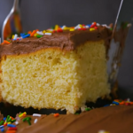 yellow sheet cake with chocolate frosting recipe