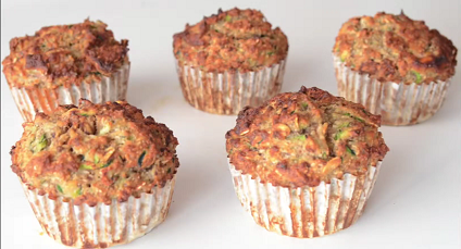 zucchini yogurt multigrain muffins recipe