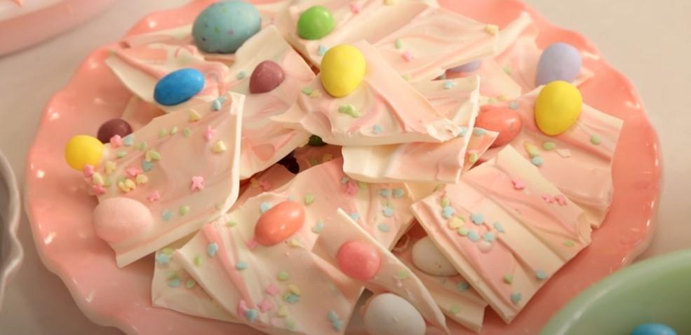 chocolate easter bunny bark recipe