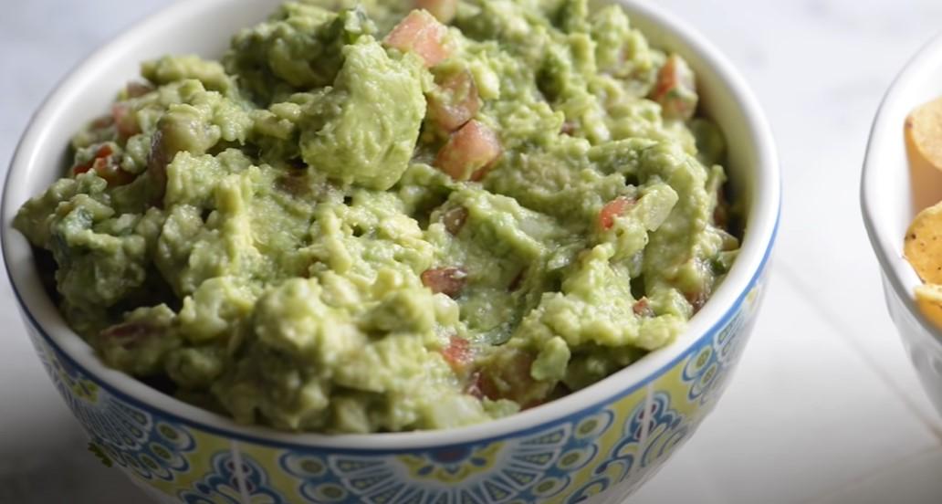 guacamole-style quinoa recipe
