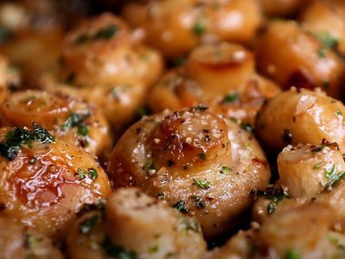 grilled mushrooms recipe