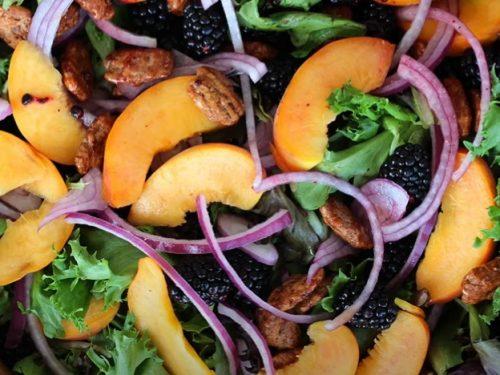 blackberry salad recipe