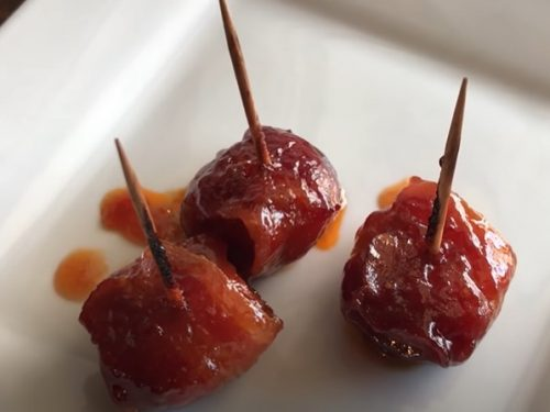 bacon-wrapped chestnuts recipe