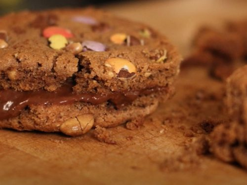 peanut butter snickers cookies recipe
