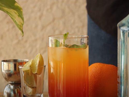 orange gin cocktail recipe