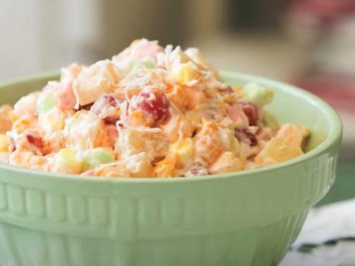 cranberry ambrosia salad recipe
