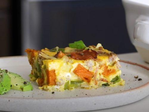 cheesy breakfast casserole recipe