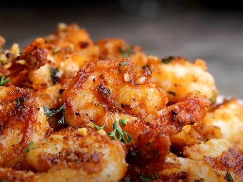 pan seared shrimp recipe