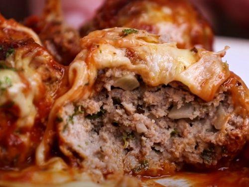 mozzarella and meatball pasta recipe
