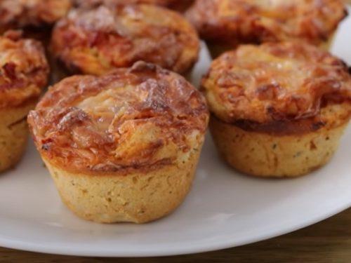 pizza muffins recipe