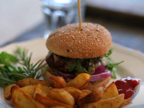 blue burger recipe