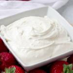 2 ingredient cheesecake dip recipe