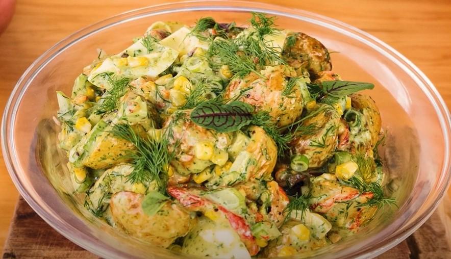 zesty roasted potato salad recipe