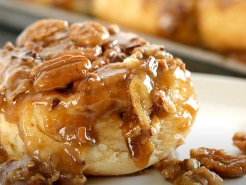 caramel rolls recipe