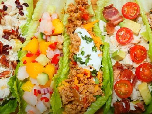 vegetarian millet lettuce wraps recipe
