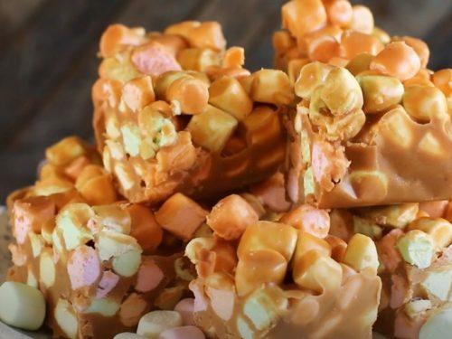 peanut butter confetti squares recipe