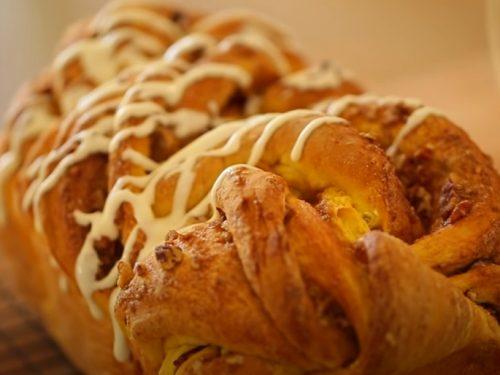 pumpkin cinnamon rolls with cream cheese frosting recipe
