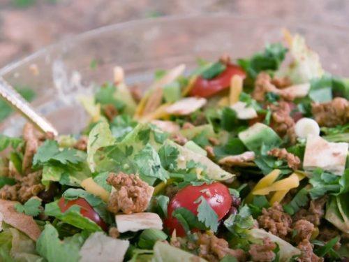 turkey black bean taco salad recipe