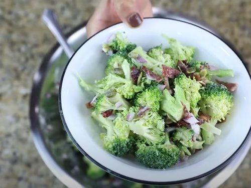 broccoli cranberry salad recipe