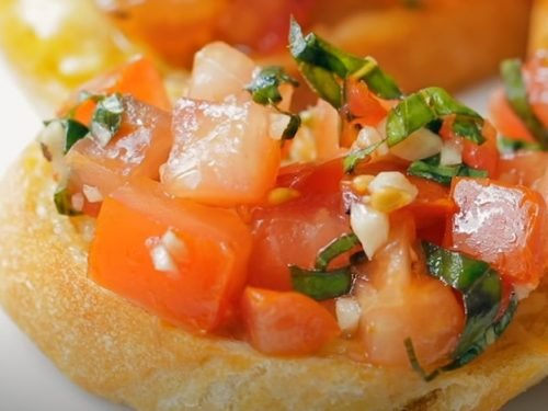 prosciutto tomato bread recipe
