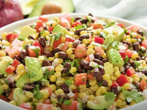 black-bean soup with avocado salsa recipe