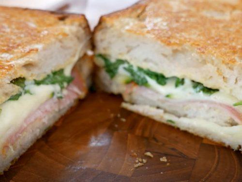 summer squash sandwiches with pecorino butter recipe