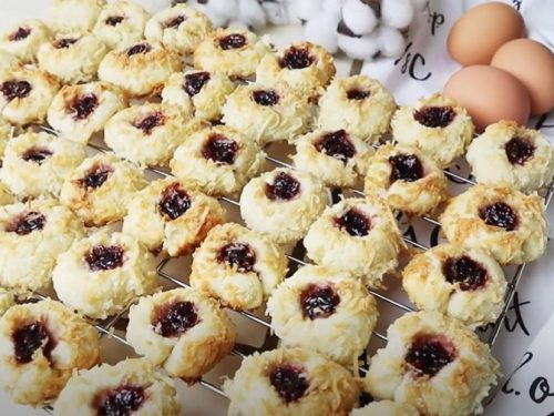 pineapple coconut thumbprint cookies recipe