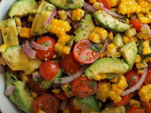 southwest avocado salad recipe