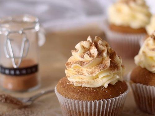spiced pumpkin cupcakes recipe
