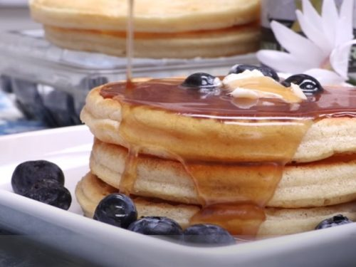 spiced maple pancakes recipe