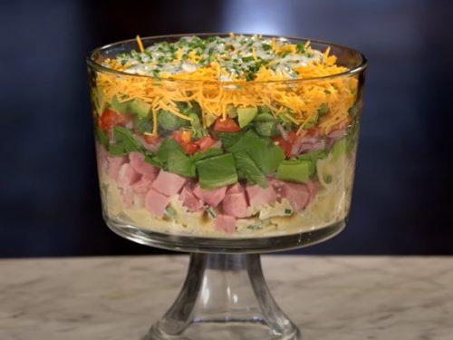 layered pasta salad recipe