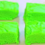 4 ingredient shamrock fudge recipe