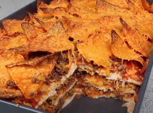 dorito taco bake recipe