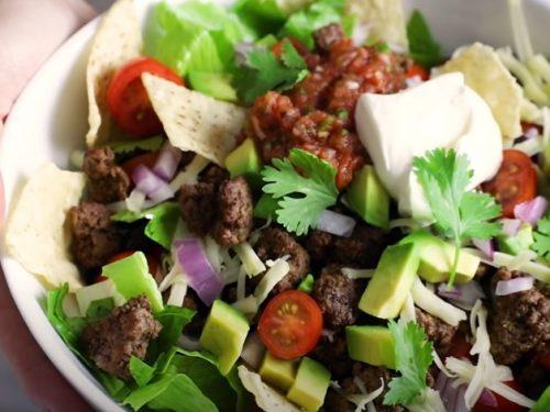 taco bean salad recipe