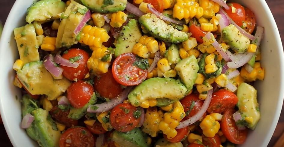 corn salsa with avocado recipe