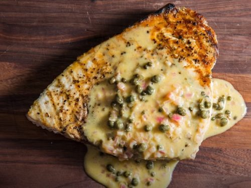 grilled swordfish with charmoula recipe