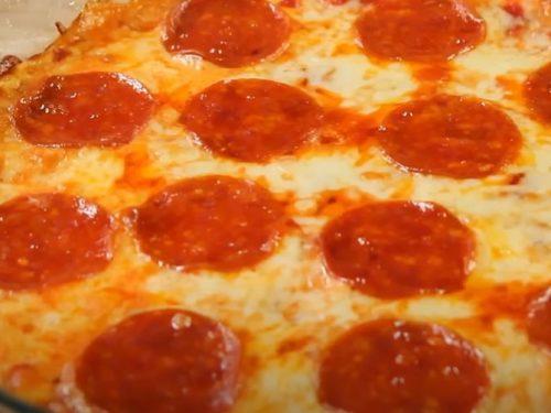 cheesy pepperoni pizza dip recipe