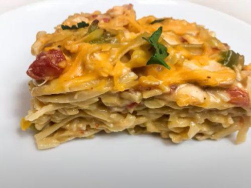 chicken and stuffing casserole recipe