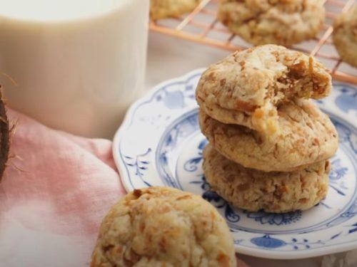 coconut short cookies recipe