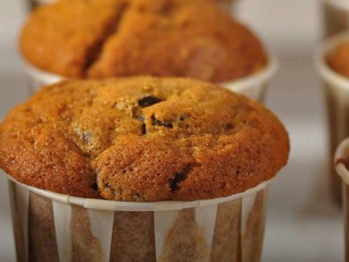 chocolate chip pumpkin cream cheese muffins recipe