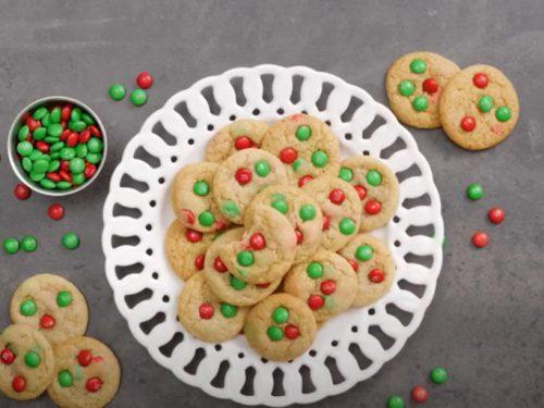 mini m&m cookies recipe
